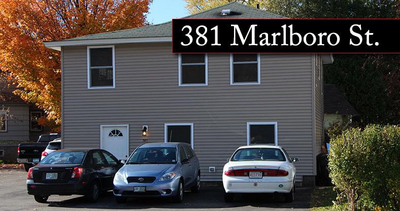 381 Marlboro Street